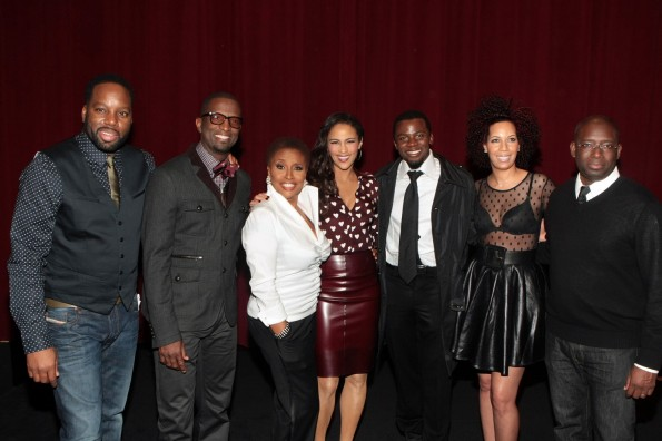 David E Talbert-Rickey Smiley-Jenifer Lewis-Paula Patton -Derek Luke- Lyn Talbert-Stacy Spikes-Urbanworld Film Festival-the jasmine brand