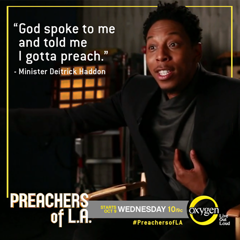[Sponsored Post] You're Invited! Oxygen Network Hosts 'Preachers of L.A.' Google+ Hangout