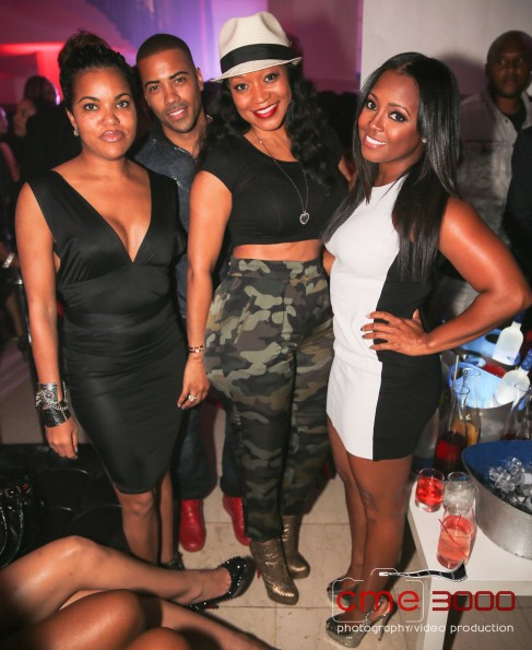 LISA NICOLE-BRAD JAMES-MONYETTA SHAW-KESHIA KNIGHT PULLIAM-TI PEEP SHOP Birthday Party-BET Hip Hop Awards AFTER PARTY 2013-the jasmine brand