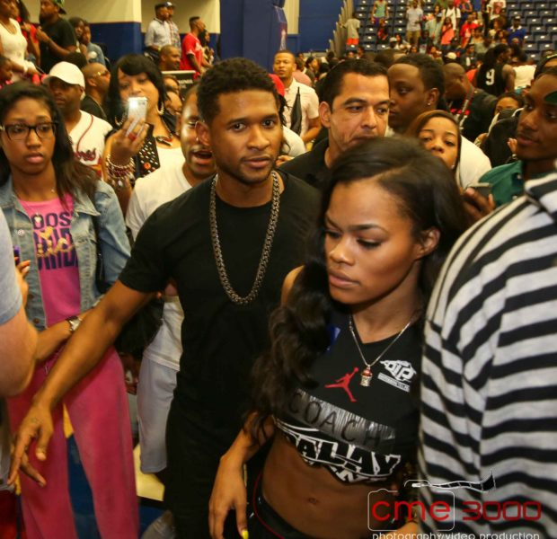 [Photos] Celebs Ball Out for Ludacris Charity Game: Usher, Tika Sumpter, Laura Govan, Terrence J & Friends