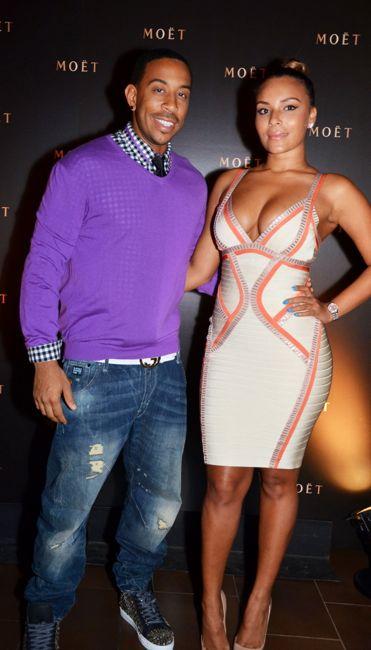 Ludacris-Eudoxie-STK Moet Dinner-BET Hip Hop Awards 2013-the jasmine brand