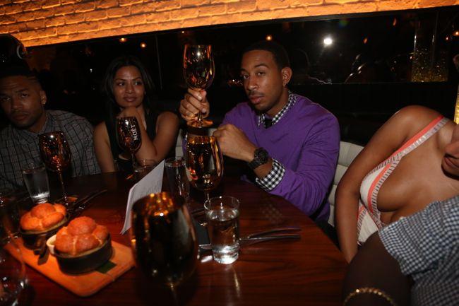 Dinner Party Fun Greg Amp Nene Leakes Ludacris Amp Eudoxie