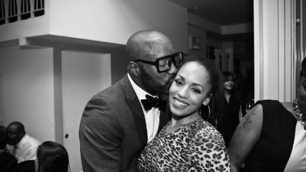 [Photos] Malik Yoba Hosts Birthday Dinner: Melyssa Ford & Leon Robinson Attend