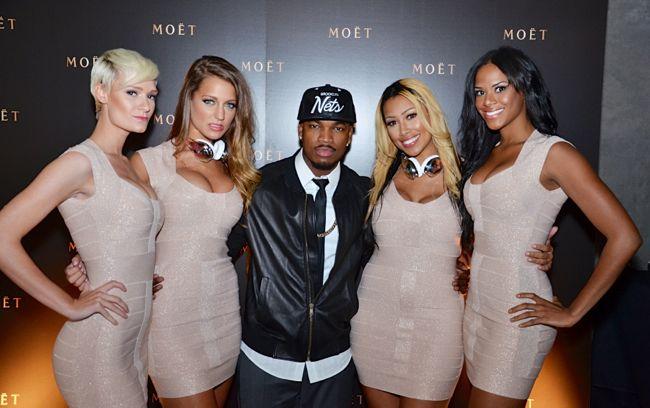 Neyo-STK Moet Dinner-BET Hip Hop Awards 2013-the jasmine brand