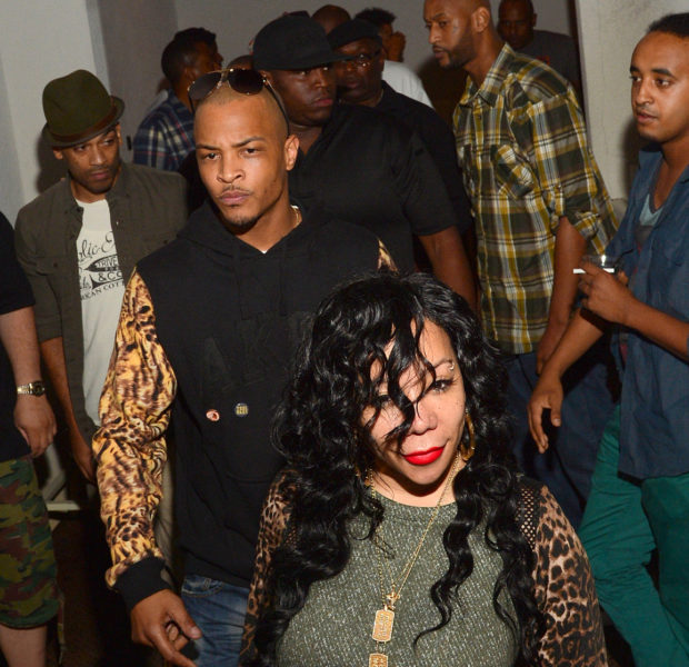 [Photos] A Couple That Parties Together, Stays Together: T.I. & Tiny Go Clubbin' + Tristan Wilds, French Montana & Tahiry Jose Spotted @ ATL Club