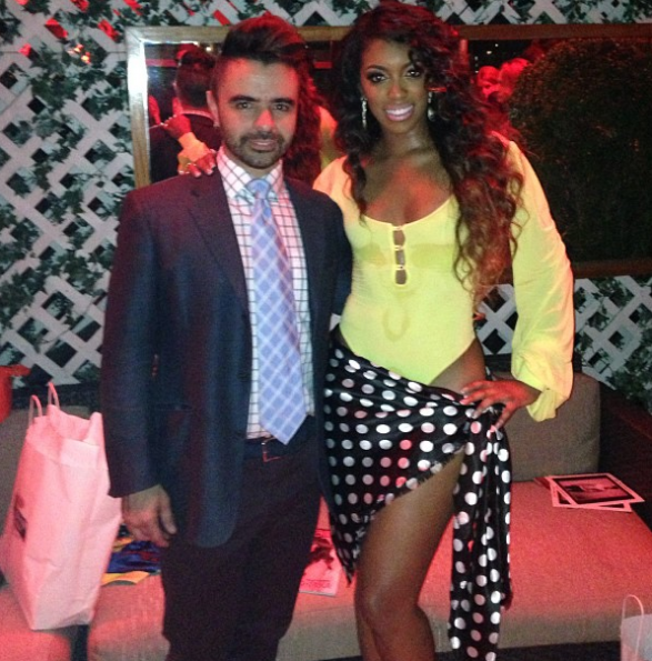 Porsha-Stewart-Walks In-AZ-Araujo-Fashion-Show-2013-The-Jasmine-Brand