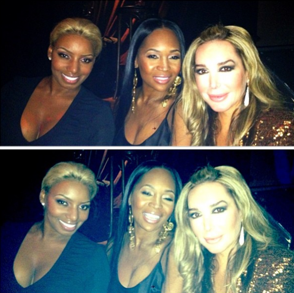 Nene-Leakes-Marlo-Hampton-Marysol-Patton-NYC-2013-The- Jasmine Brand