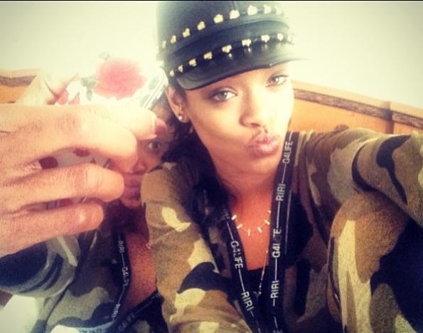 Rihanna-Melissa-Selfies-2013-The-Jasmine-Brand