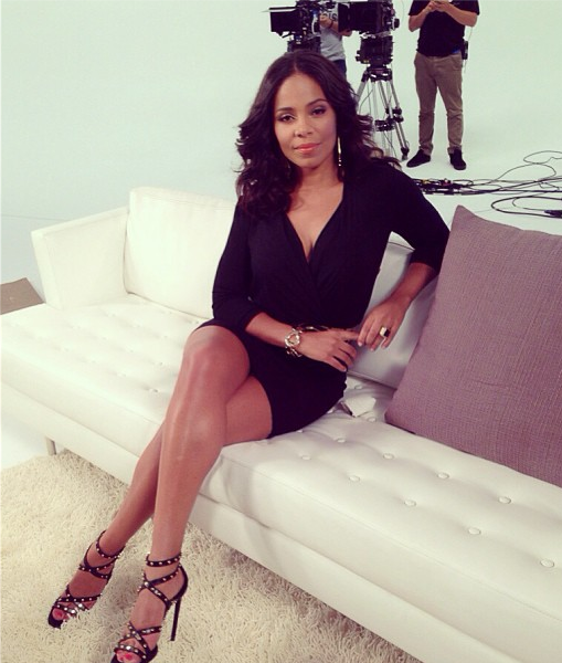 Spotted. Stalked. Scene. Sanaa Lathan Promotes New Movie, Evelyn Lozada Hits Yahoo & More Celeb Stalking