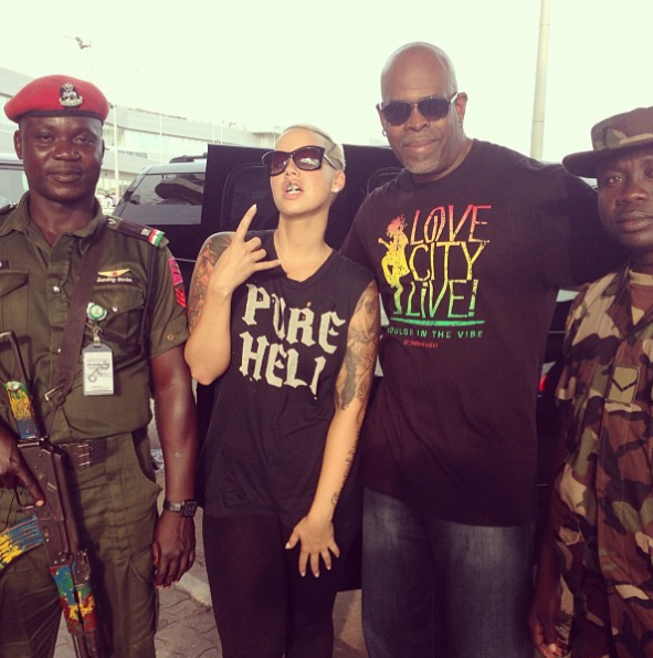 Amber-Rose-Poses-Nigerian-Police-The-Jasmine-Brand