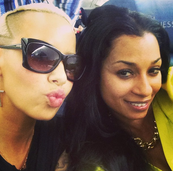 [Photos] Amber Rose & LHHA's Karlie Redd Travel to Nigeria for Judging Gig