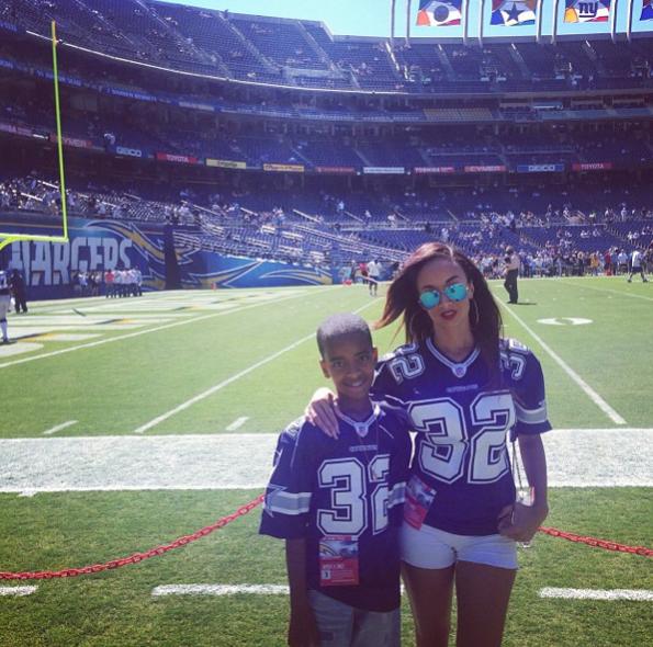 Draya-Michele-Son-Attend-Dallas-Cowboys-Game-The-Jasmine-Brand