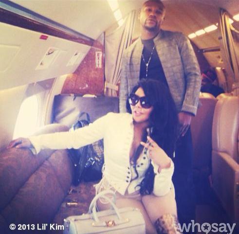 Lil-Kim-Floyd-Mayweather-Partied-In-Atlanta-Jet-Life-The-Jasmine-Brand