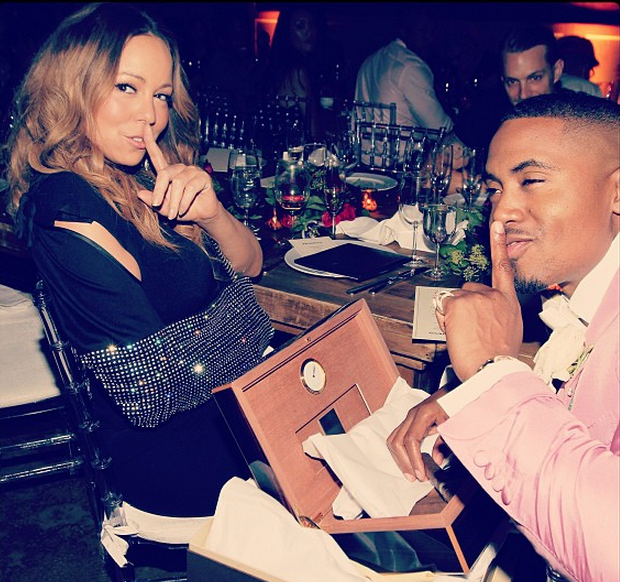 40 Years Young Never Looked So Dapper: Nas Celebrates 4-0 With Mariah Carey, Jermaine Dupri & Industry Friends