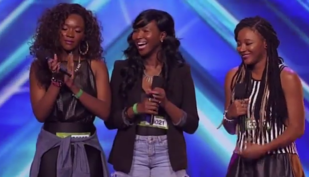 [WATCH] Marvin Gaye's Grand Daughters Make Musical Debut On X Factor + Pharrell Defense Ongoing Lawsuit Against Gaye's Estate