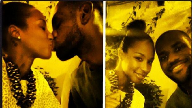 [Photos] LeBron James Shows Off His New Bride On Their Honeymoon