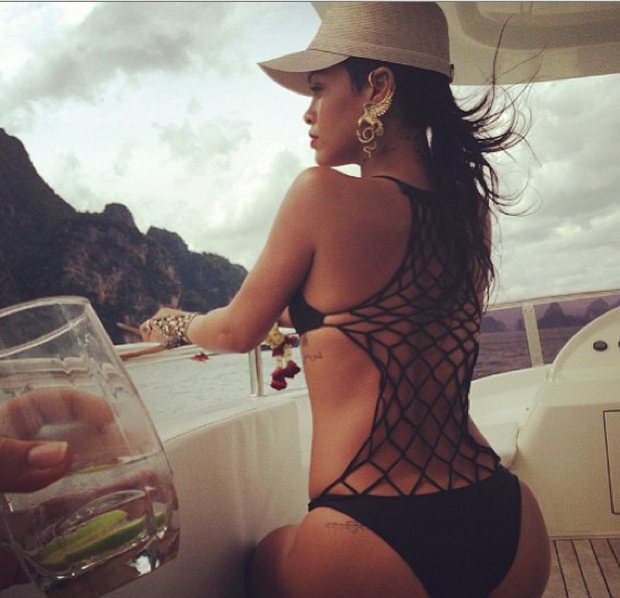 Thailand Is Rihanna's Latest Muse for Instagram Photo Shoot