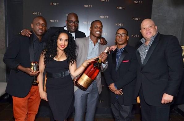 Shawn-Pecas-Costner-Mike Kyser-Chaka Zulu-Kawan-STK hip hop awards dinner-the jasmine brand