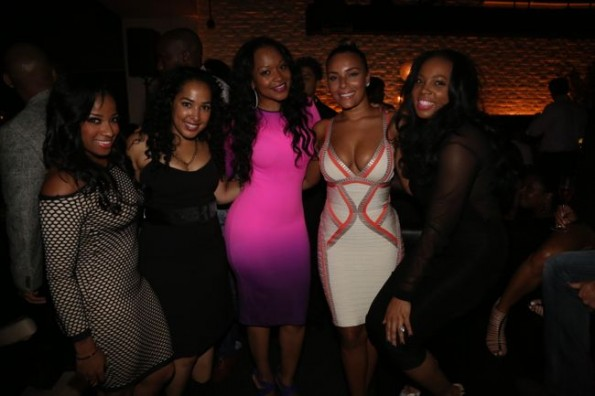 Toya Wright-monyetta shaw-Eudoxie-moet STK dinner hip hop awards 2013-the jasmine brand