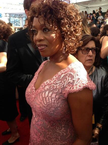 alfre woodard-waist-emmys red carpet 2013-the jasmine brand