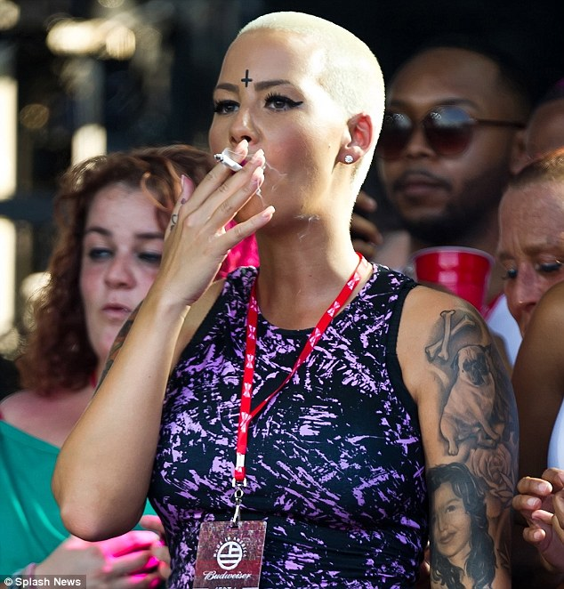 amber rose-made in american festival 2013-the jasmine brand