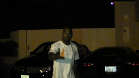 b-kanye west-confronts paparazzi-after kimmel spoof-the jasmine brand