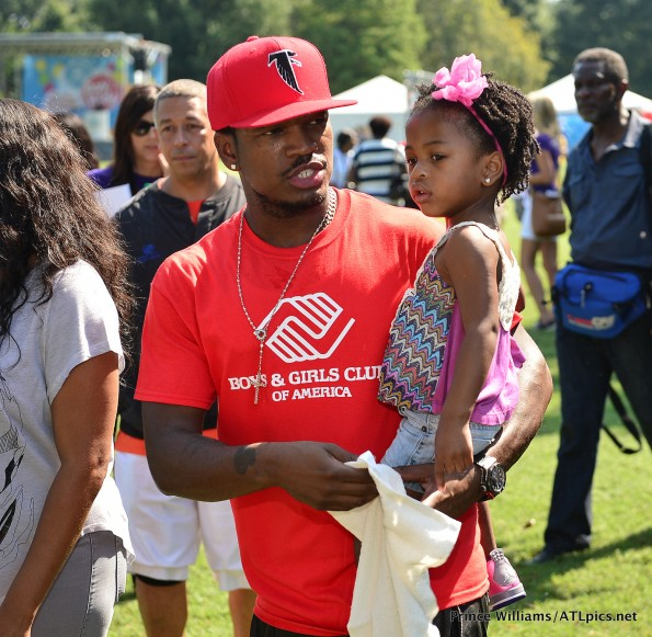 b-neyos daughter-The Boys and Girls club-kids day-atlanta-the jasmine brand