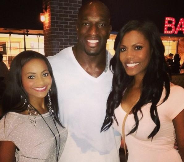 b-omarosa-dating wwe wrestler Titus O'Neil-the jasmine brand