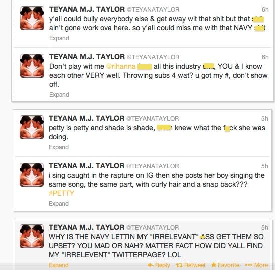 b-rihanna-teyana taylor twitter beef-screen grabs-the jasmine brand