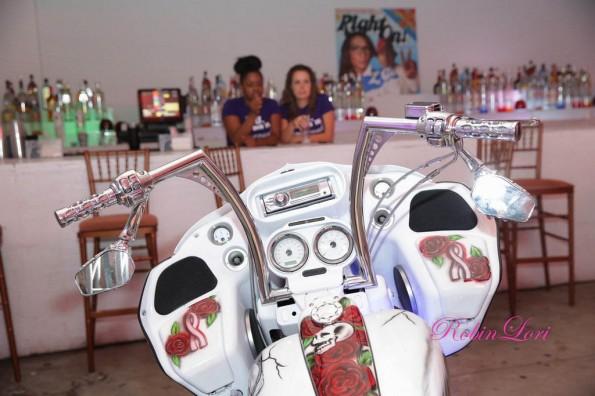bike-Towanda Braxton 40th birthday party-the jasmine brand
