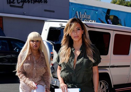 [Photo] New Bestie Alert: Kim Kardashian & Blac Chyna
