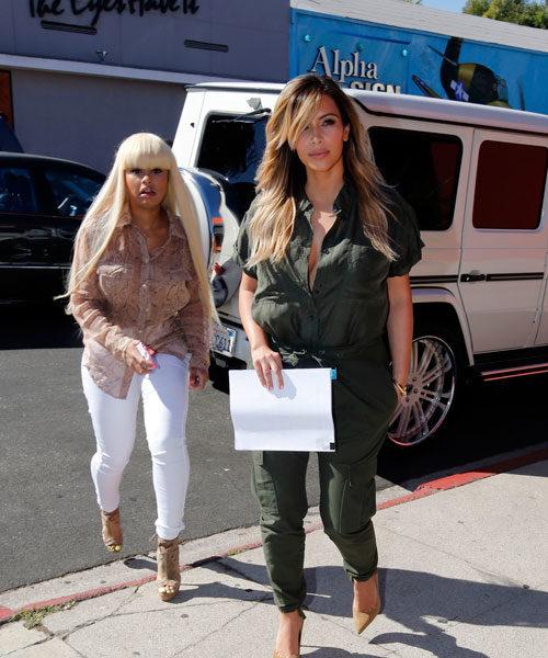 [Photo] New Bestie Alert: Kim Kardashian & Blac Chyna