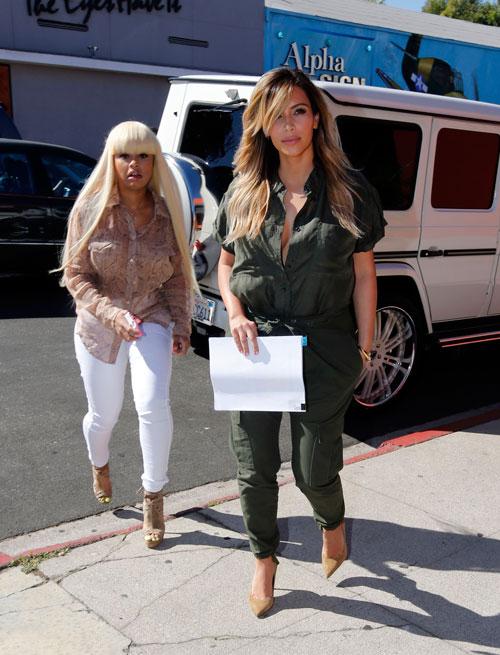blac chyna-kim kardashian-spotted in la-the jasmine brand