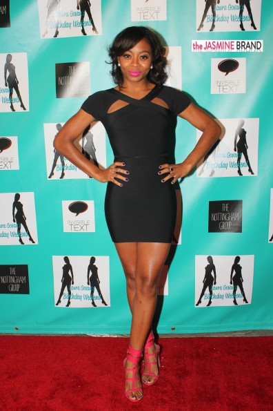 bresha webb-laura govan birthday party 2013-the jasmine brand