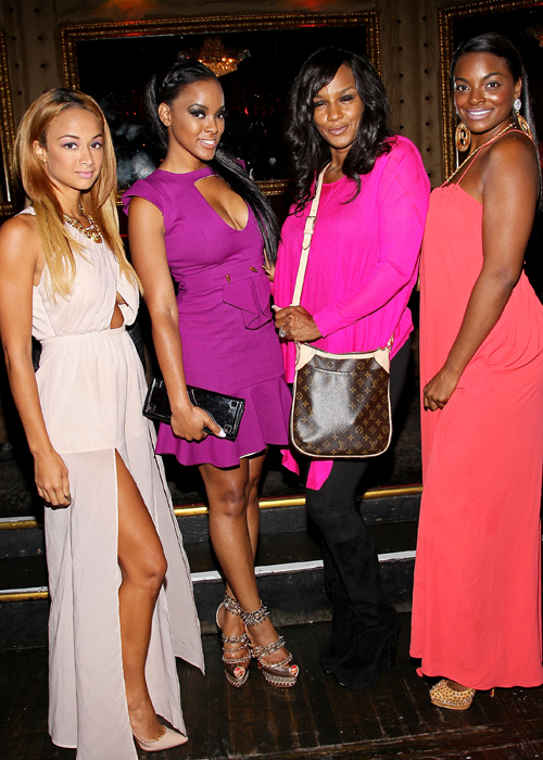 Jackie Christie's New York 2013 Fashion Week Cocktail Reception