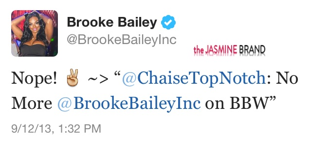 + Brooke Bailey Announces She's Not Returning to Basketball Wives