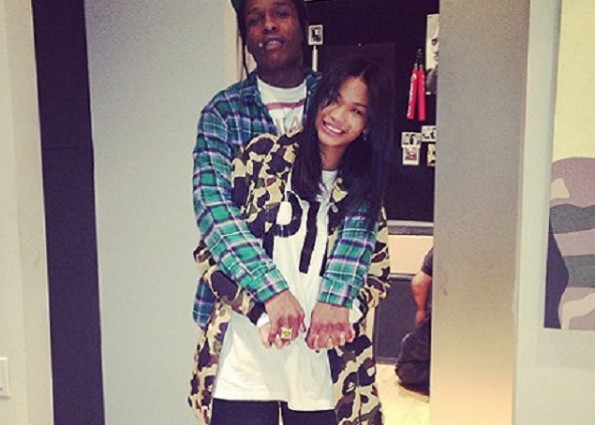 A$AP Rocky, Chanel Iman