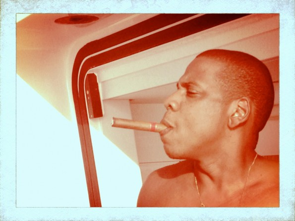 cigar smoke-beyonce-jay z-Mediterranean vacation 2013-the jasmine brand