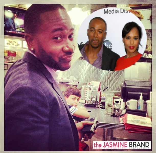 Columbus Short Says Kerry Washington Was Robbed At Emmys: I Wish I Could've Pulled A Kanye