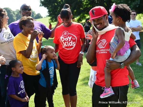 d-neyo-The Boys and Girls club-kids day-atlanta-the jasmine brand