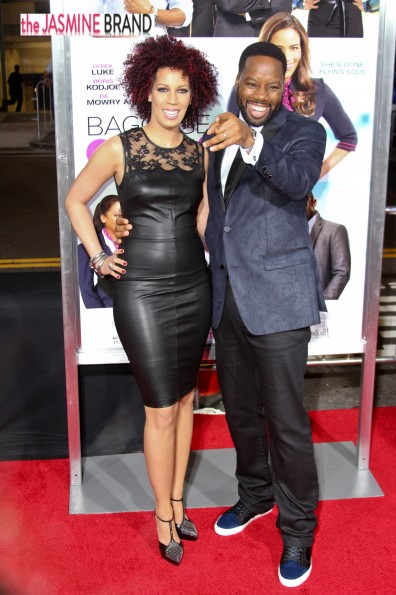 david e talbert and wife-baggage claim premiere-the jasmine brand