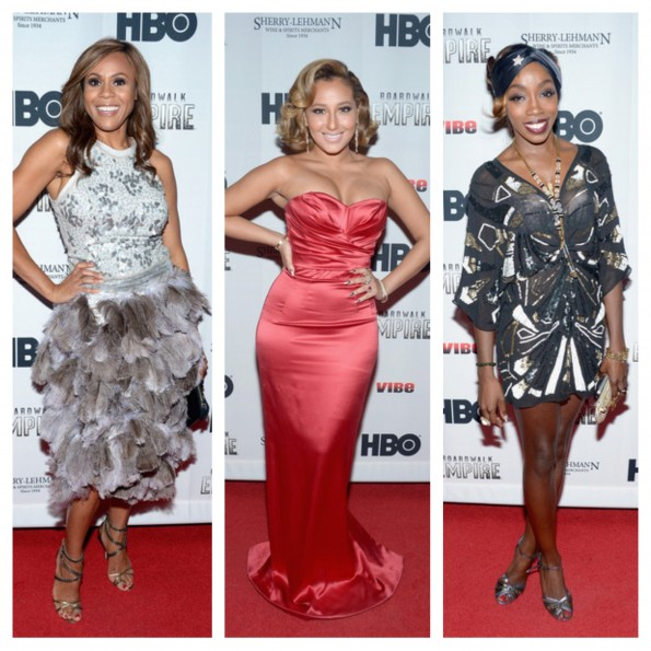 deborah cox-adrienne bailon-estelle-new york fashion week-boardwalk fashion fete-the jasmine brand