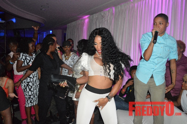 LHHA's 'Puerto Rican Princess', Joseline Hernandez, Shows Up for ATL Pride Party