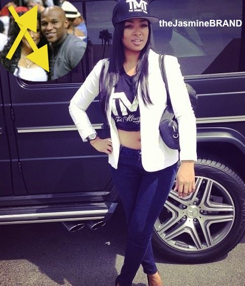 Floyd Mayweather Jr to Debut New Girlfriend, Princess, At Fight Against Alvarez