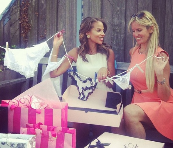 g-single ladies actress-denise vasi-bridal shower 2013-the jasmine brand