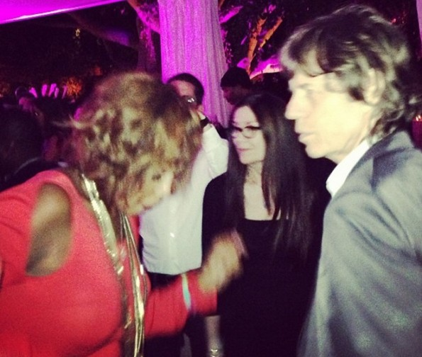 gayle king-dances with mick jagger 2013-the jasmine brand