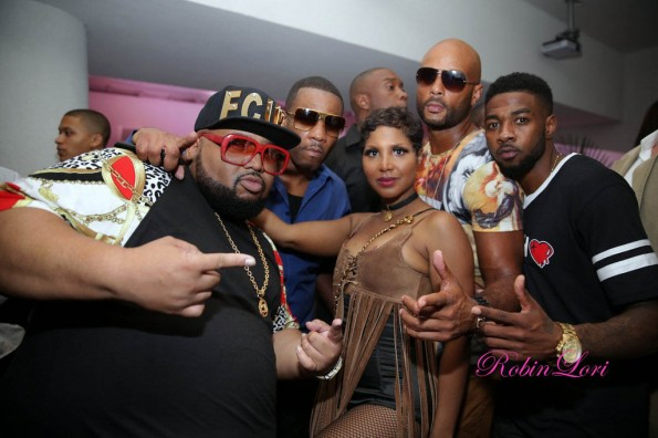group-vaughn-jazzy phe-toni braxton-Towanda Braxton 40th birthday party-the jasmine brand