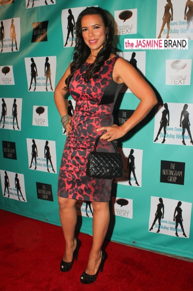 hollywood exes-shamika lawrence-laura govan birthday party 2013-the jasmine brand