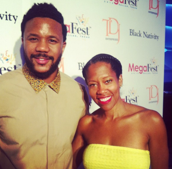 hosea chanchez-regina king-let teh church say amen-mega fest-the jasmine brand