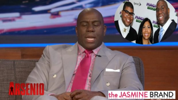 [WATCH] Magic Johnson Tells Arsenio Hall It's A Blessing That His Son Came Out the Closet
